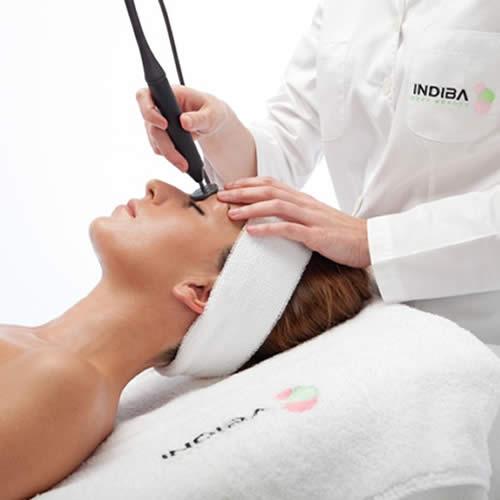 Tratamiento corporal Indiba mujer